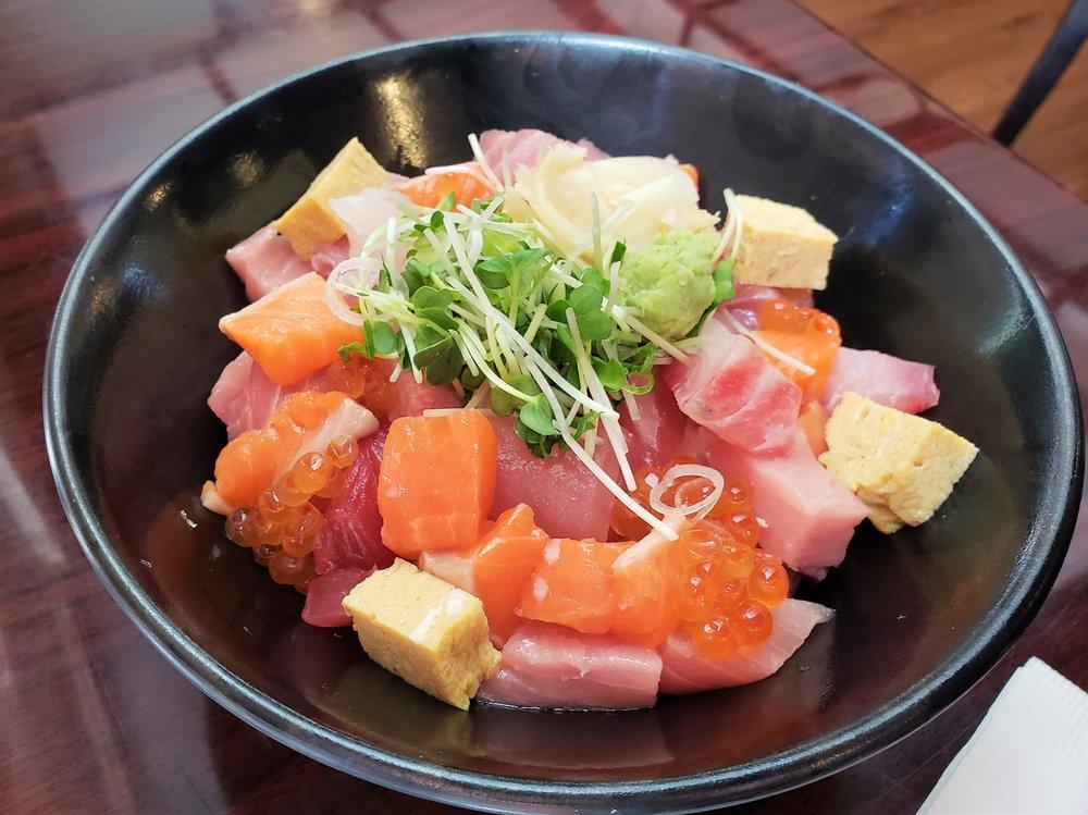 Chirashi bowl wadatsumi