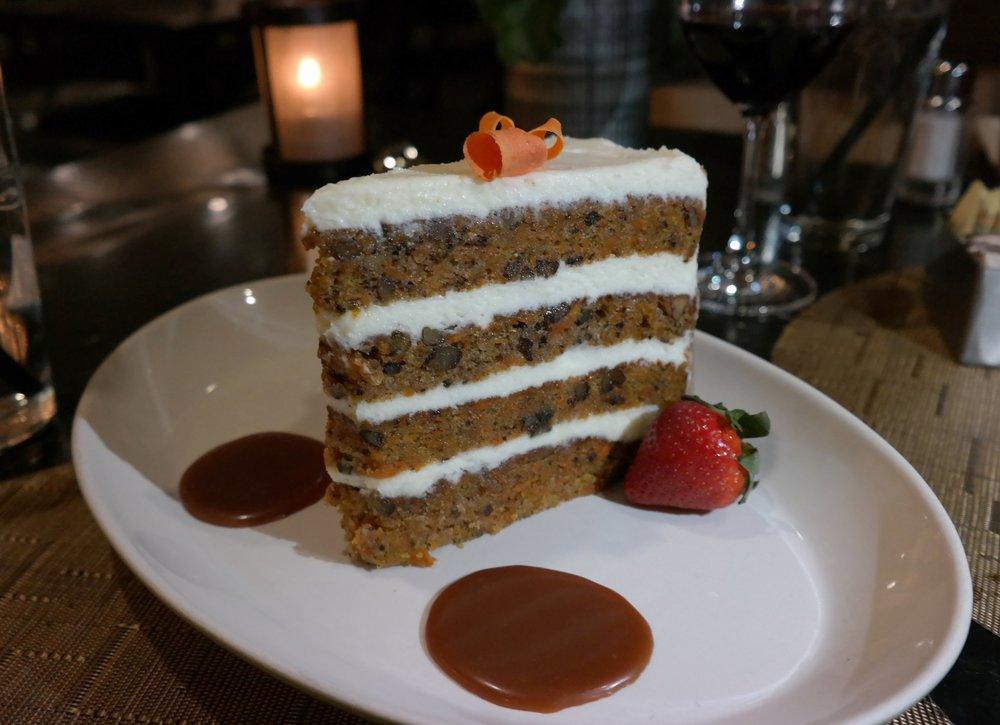 Carrot cake Scottsdale Resort McCormick Ranch