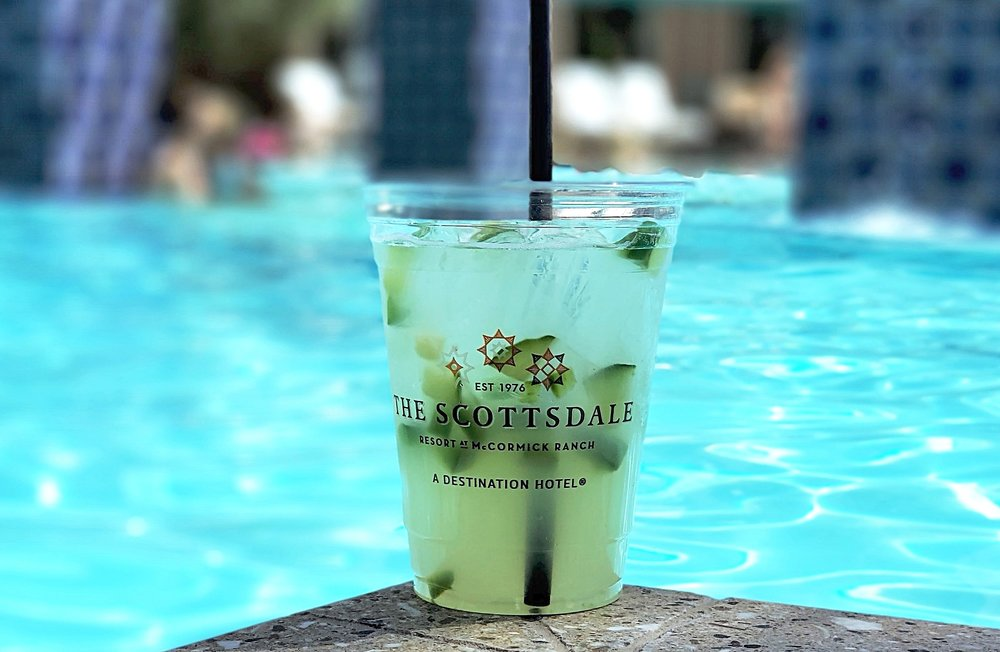 Twisted Vine Pool Bar and Grill: Jalapeno and Cucumber Margarita