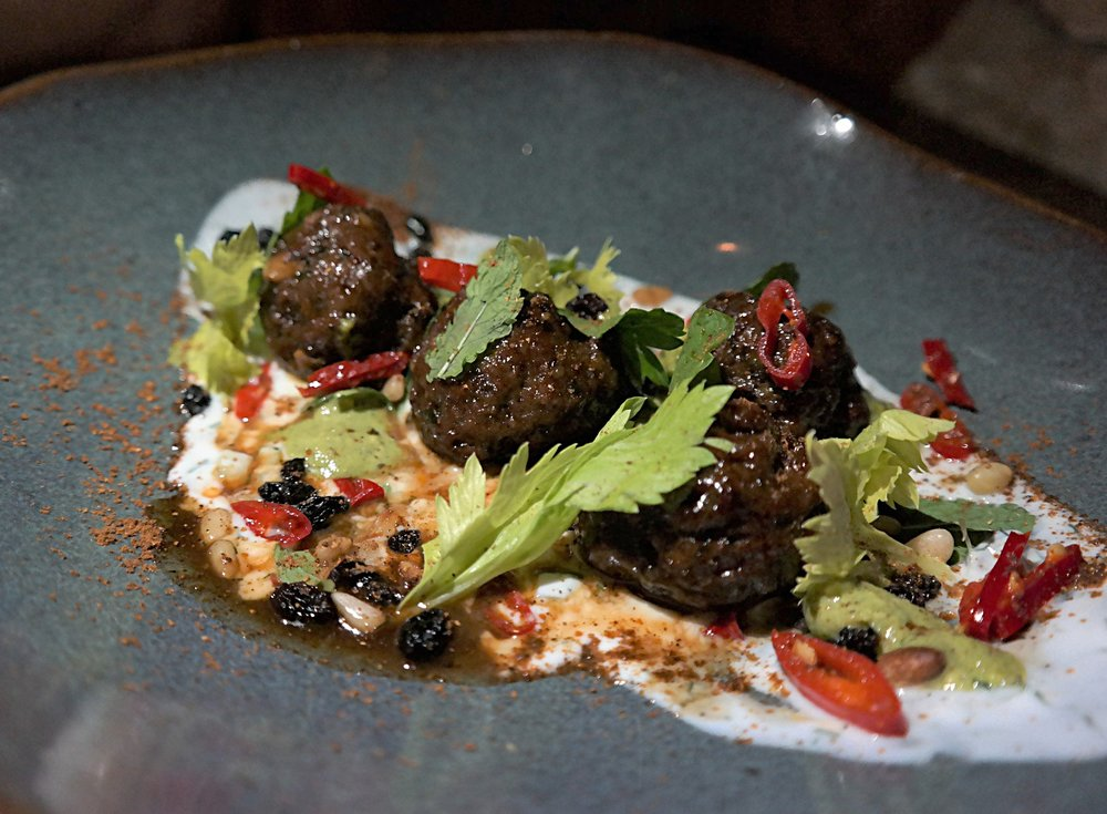 Lamb meatballs at Talavera