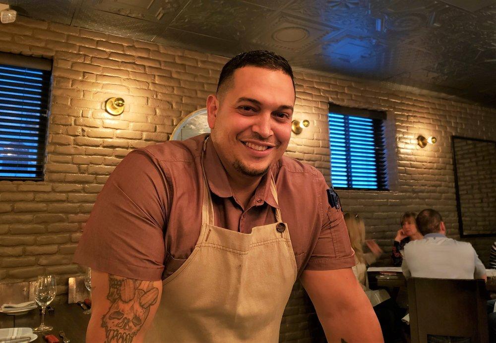 Chef Anthony Apolinar  (Christina Barrueta)