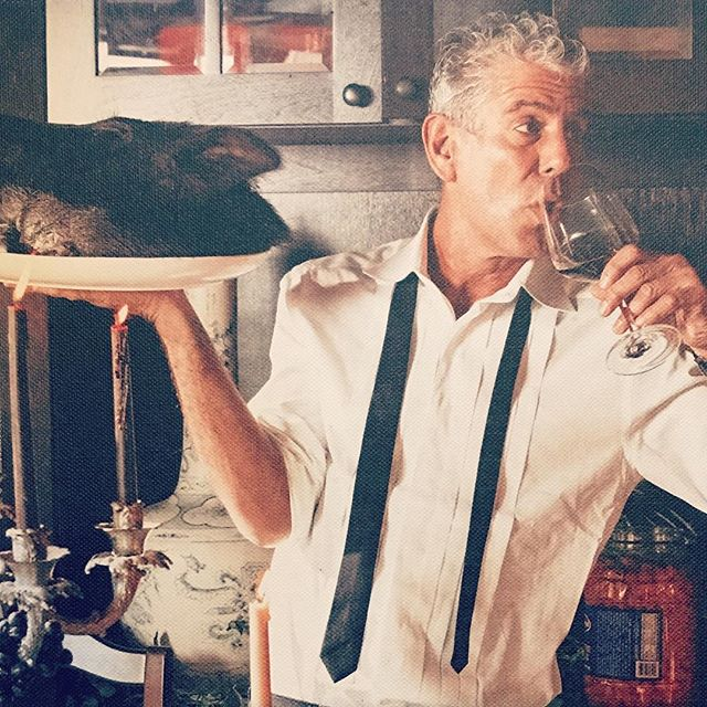 I'm utterly shook. Anthony Bourdain was an inspiration to me on so many levels. Humanity lost one of the great ones. 😰