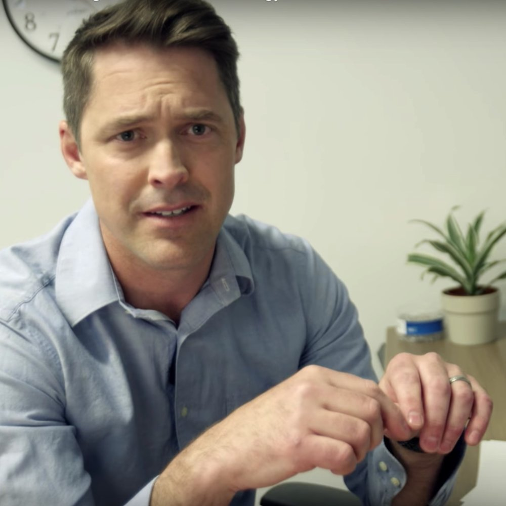 """NetApp """"Don't Miss the Next Defining Moment in Technology"""" promo   We partnered with Postmodern Company to produce this video promotion of NetApp's upcoming live simulcast inspired by """"The Office"""" style humor."""