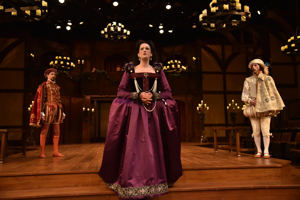 Olivia in Twelfth Night at Orlando Shakespeare