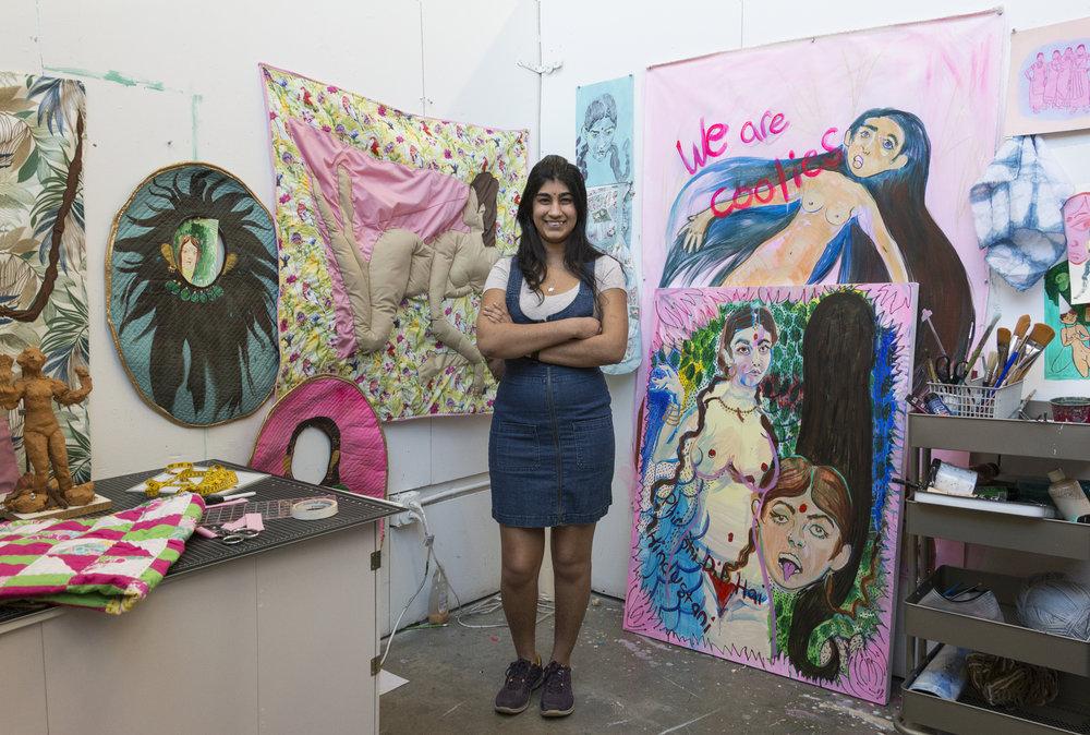 Fazida Yathali - Painting '17