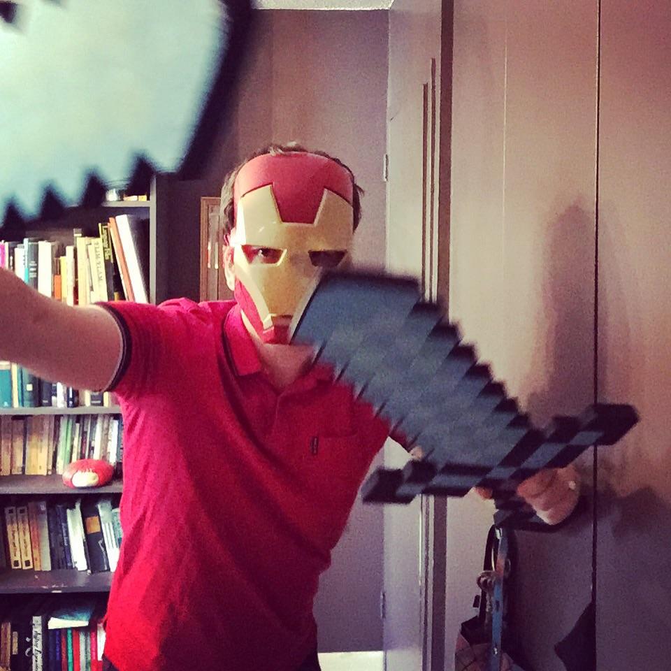 Electro-Samurai... The hero!