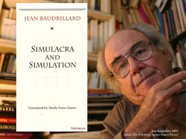 fig. 9 - Jean Baudrillard.