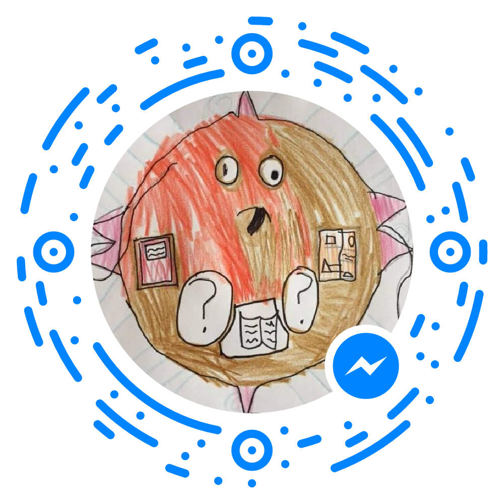 Still not entirely sure HOW one scans a Facebook Messenger code, but that's coming.