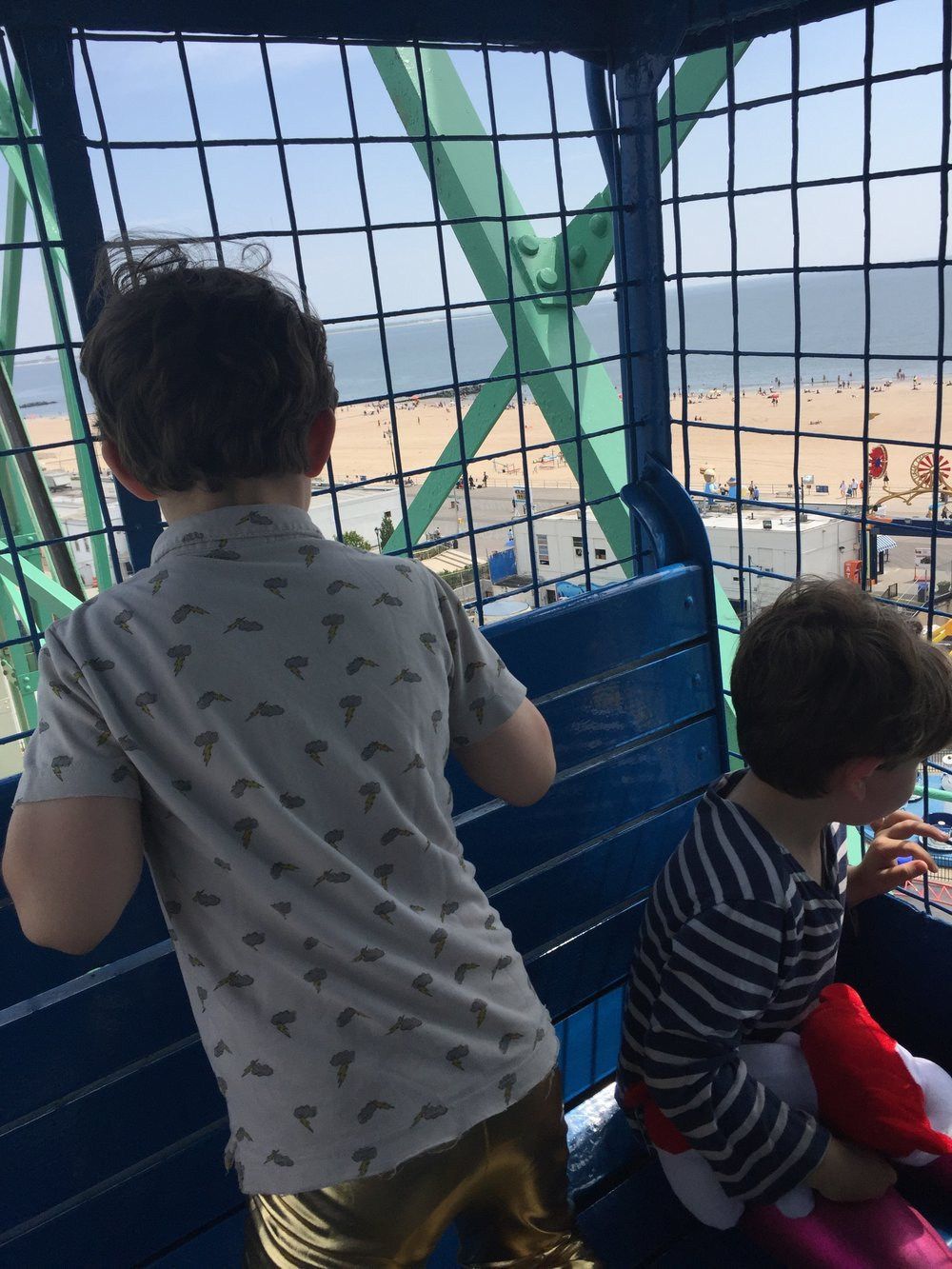 Tip: take the swinging cars on the Wonder Wheel. Way cooler.