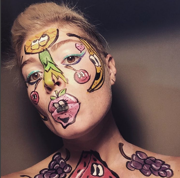 Tooty Frooty facepaint