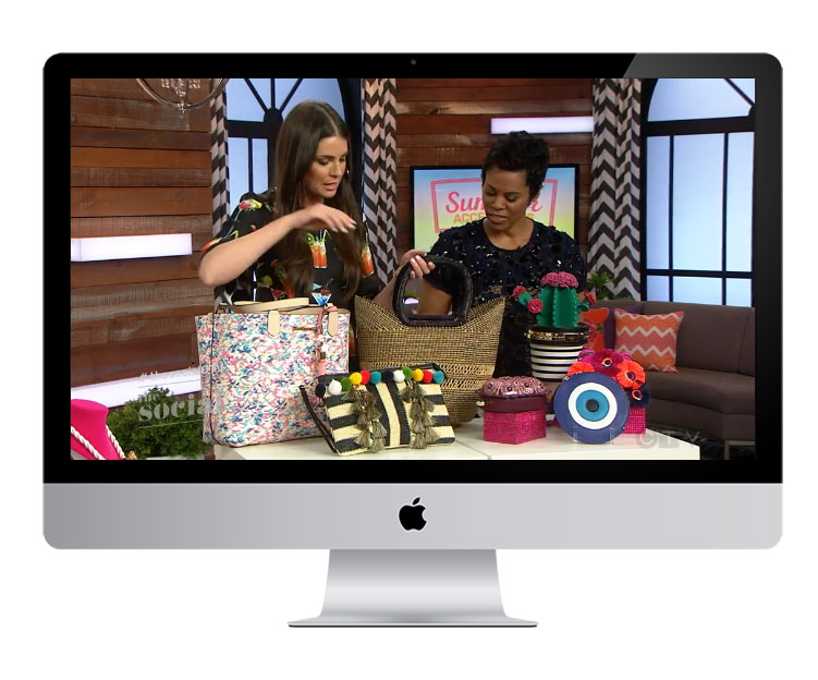 The Social on CTV   Featured in: Segment / Must Have Summer Accessories  July 2017