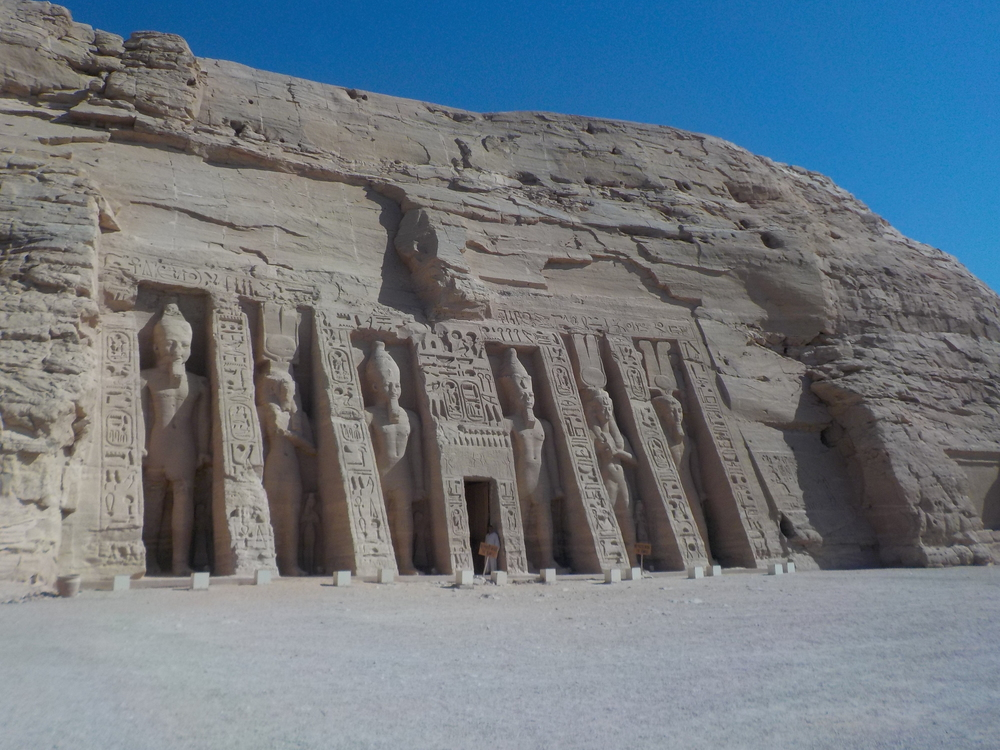 Abu Simbel Temples Date, Friday, June 17, 2016