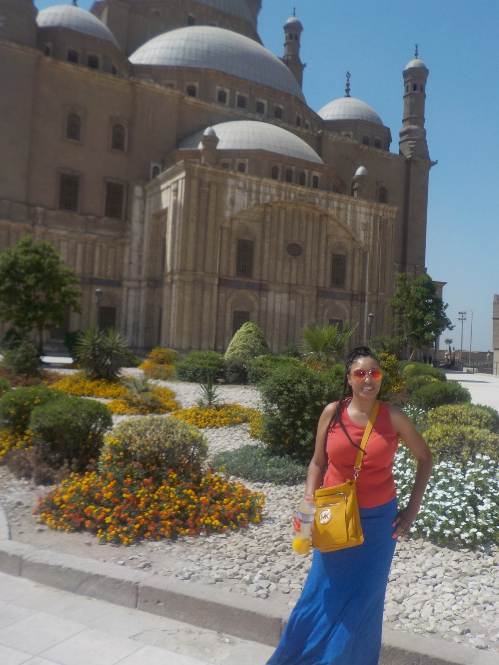 My niece La Tonya at the Cairo Citadel  Date: Monday, June 13th, 2016