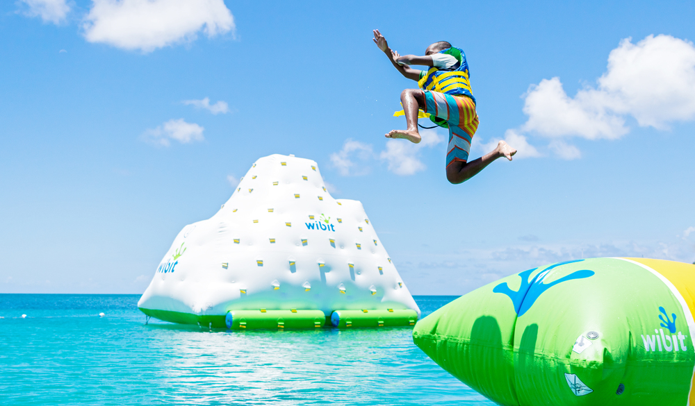 The Flip at Splash Island Water Park St. Lucia