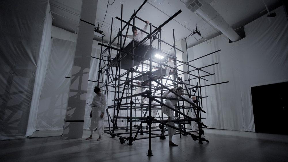 MAXIM SMIRNOV | PERFORMANCE ARTIST IN ANIA CATHERINE + DEJHA TI INSTALLATIONS | 2018