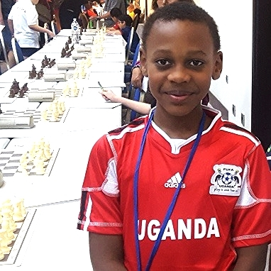 Tendo  is in the 6th Grade at Open Window School and is very involved in many activities. His Chess skills have seen him travel all over the world for competitions. He is the youngest brother of Mukisa and is excited to get a chance to make a difference in honor of his Aunt Hope.
