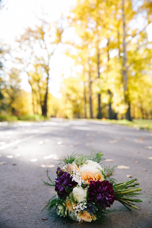 autumn wedding bouquet calgary custom