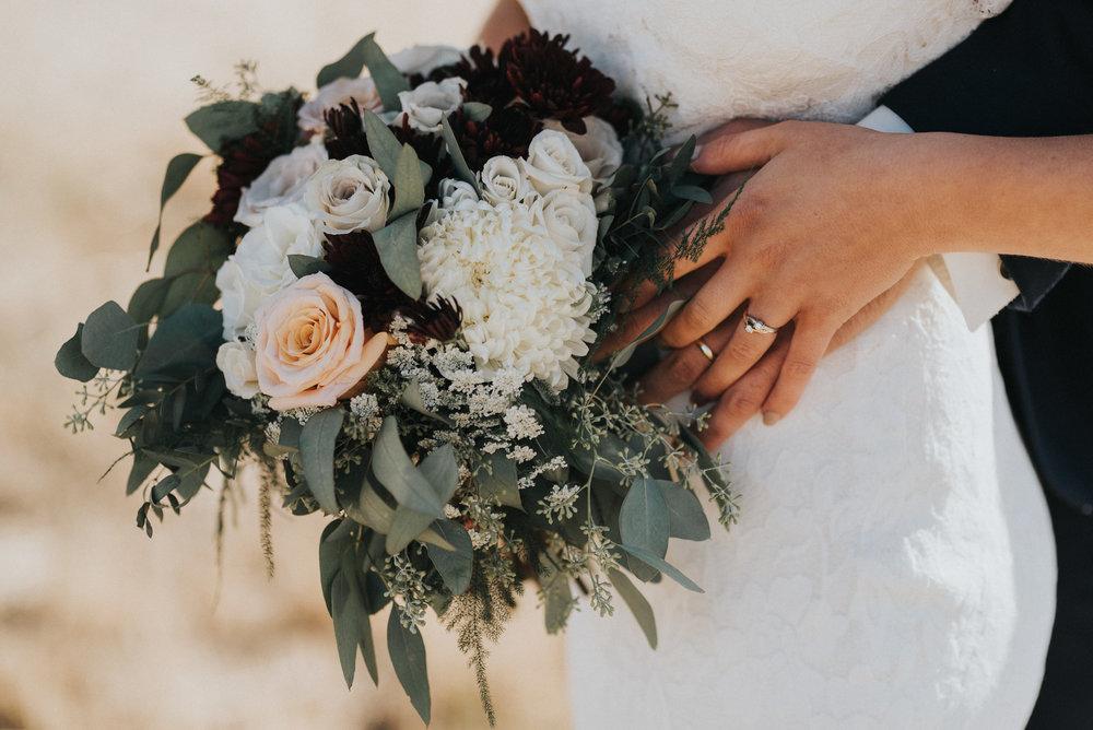 affordable rustic wedding flowers in alberta