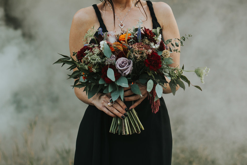 wedding flower arrangements based in calgary, canmore, banff, and lake louise