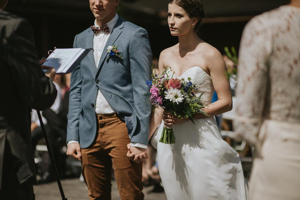 bride's bouquet wedding flowers in cochrane, alberta