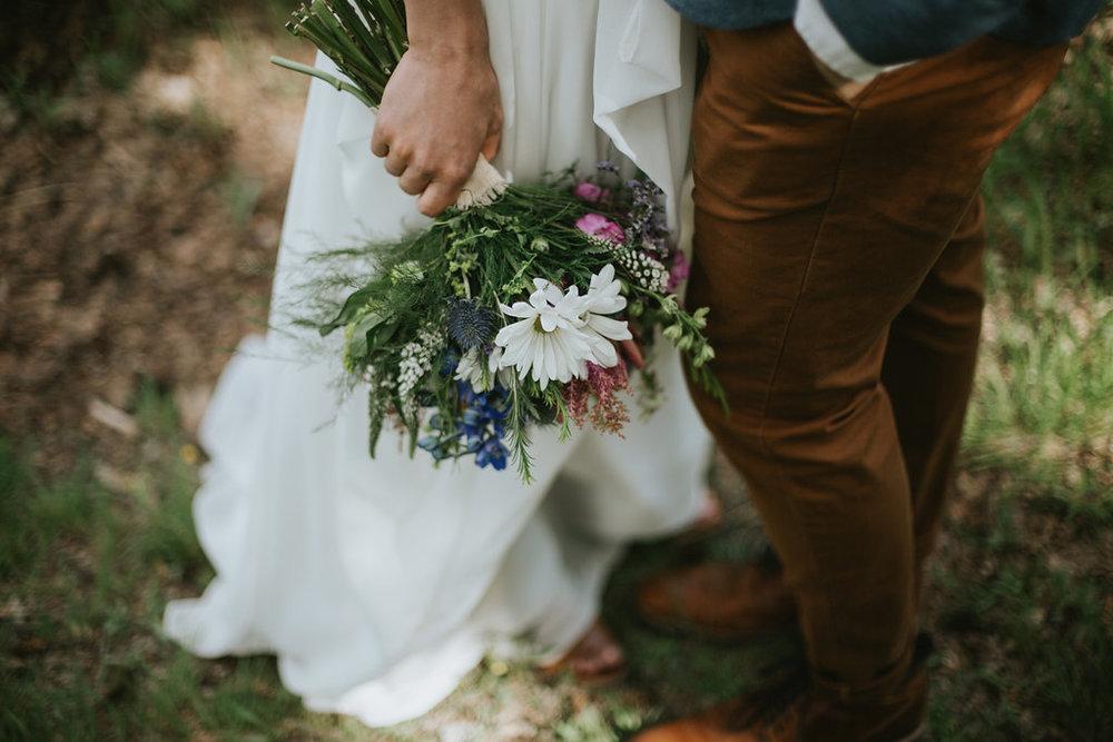 rustic and vintage bridal flowers in cochrane, alberta