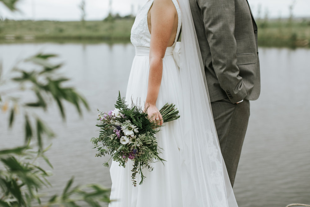 vintage natural and whimsical wedding flowers in calgary alberta