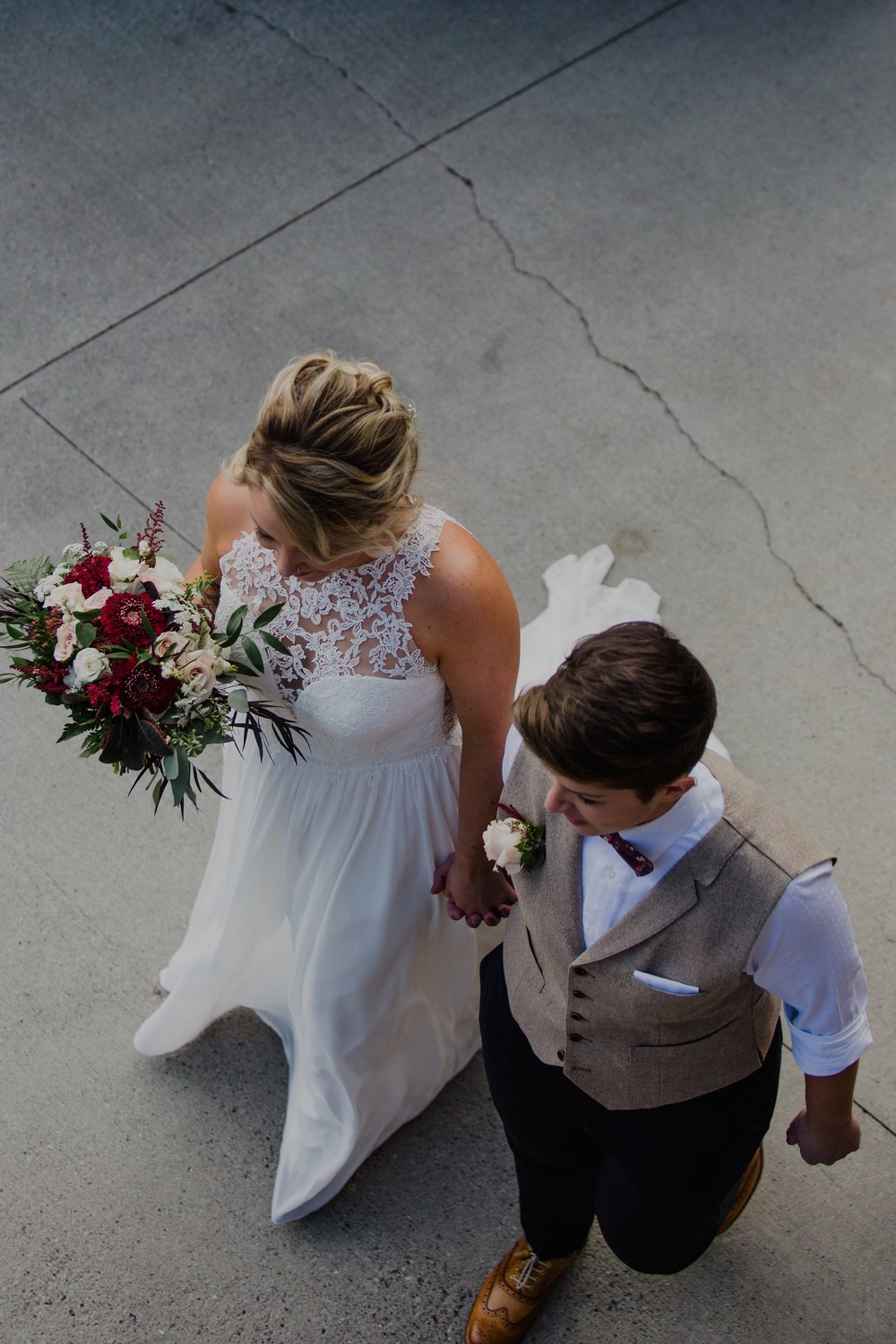 bridal bouquet and flower arrangements in canmore, alberta