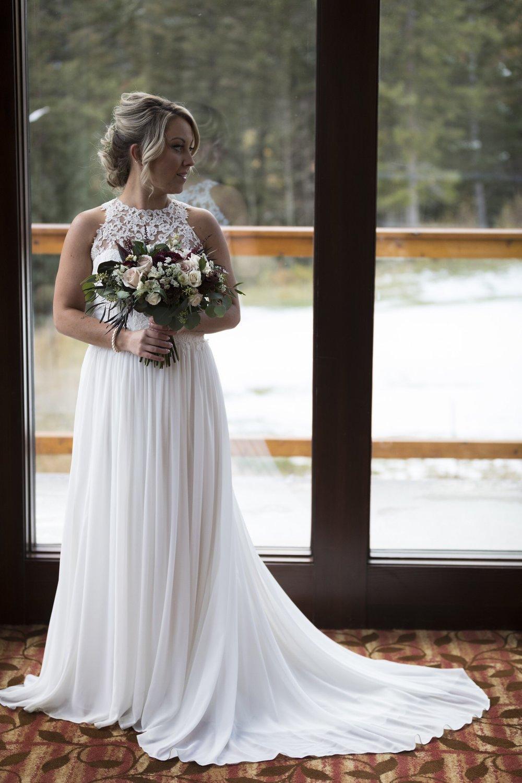 wedding florist in canmore, alberta