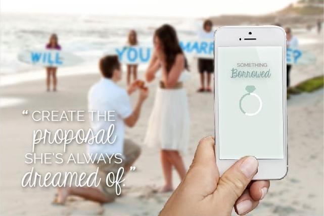 Mia Sara Design Studio: Something Borrowed App - Promotion 01