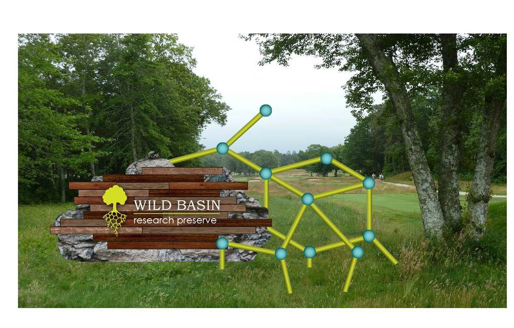 Mia Sara Designs: Wild Basin Research Preserve - Entrance Mockup