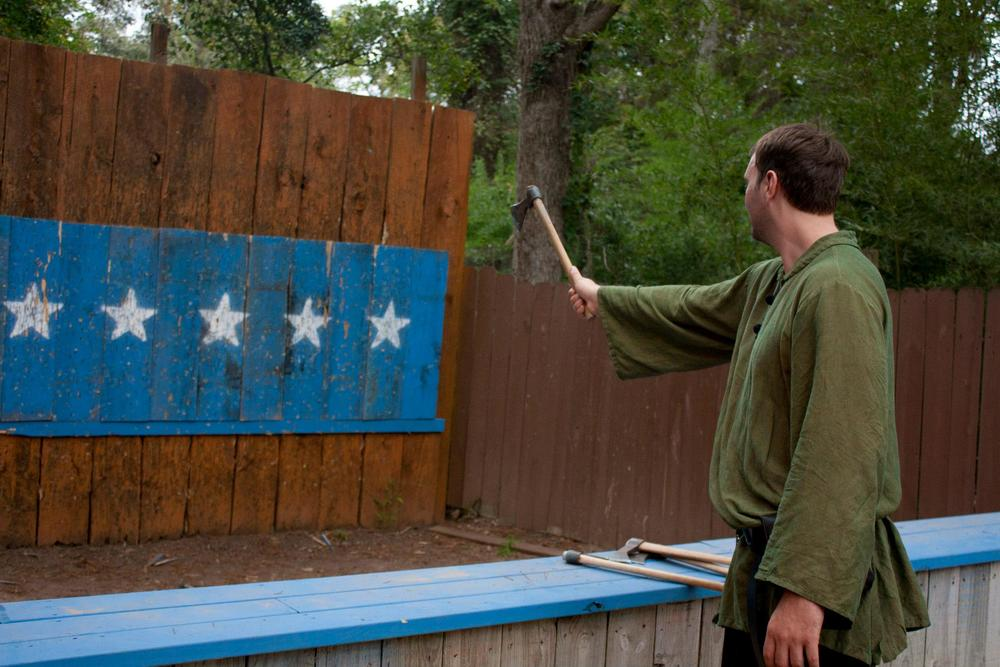 Adam Throwing Axes