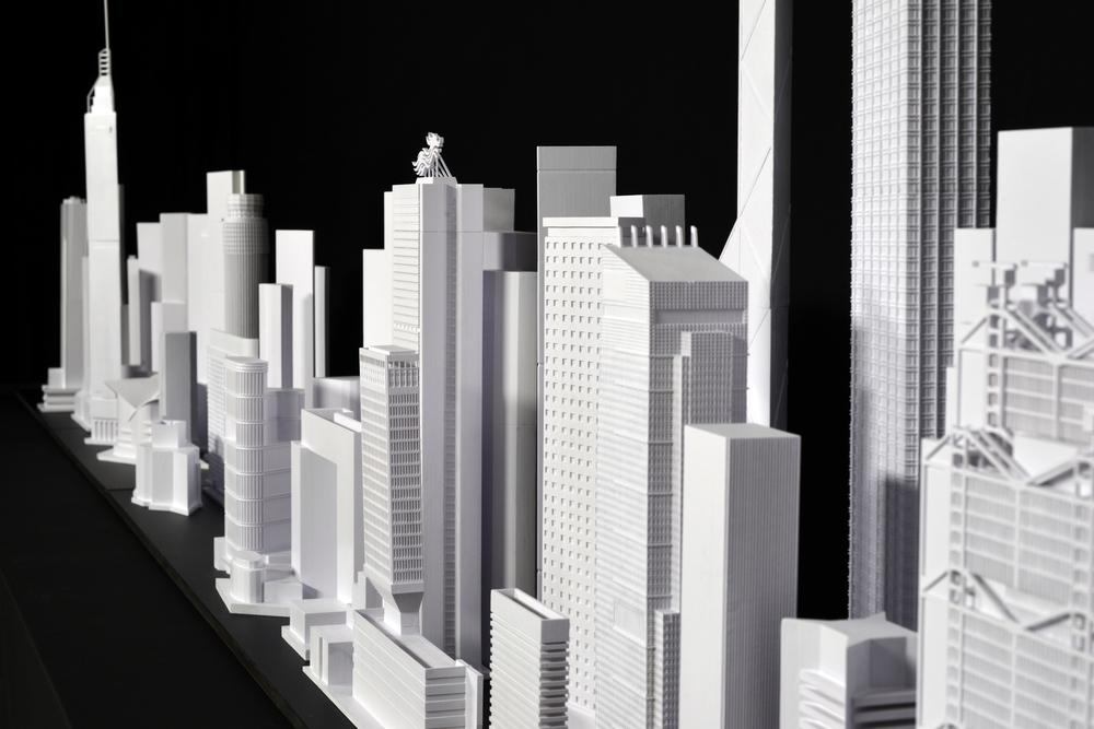 3D-printed models