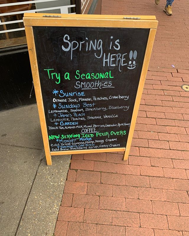 There is more at #CapHillBourbon for this beautiful spring season... We are not just about the great coffee and the wonderful food.. we also love to see the smiling faces who come in pleased with just a simple sip. Stop on by for our sensational specials or even just to have a simple conversation.. here at #CapHill you always have a friend!!!! 😁 #SWIPE #CapHillComeChill