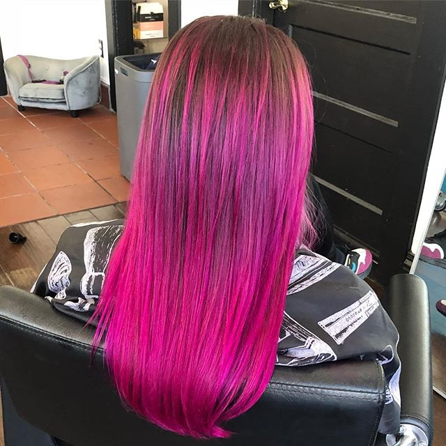 @matrix #SoColorCult in the color #flamencofuschia for @viciouzbishop by @kayscosmo 💞💞