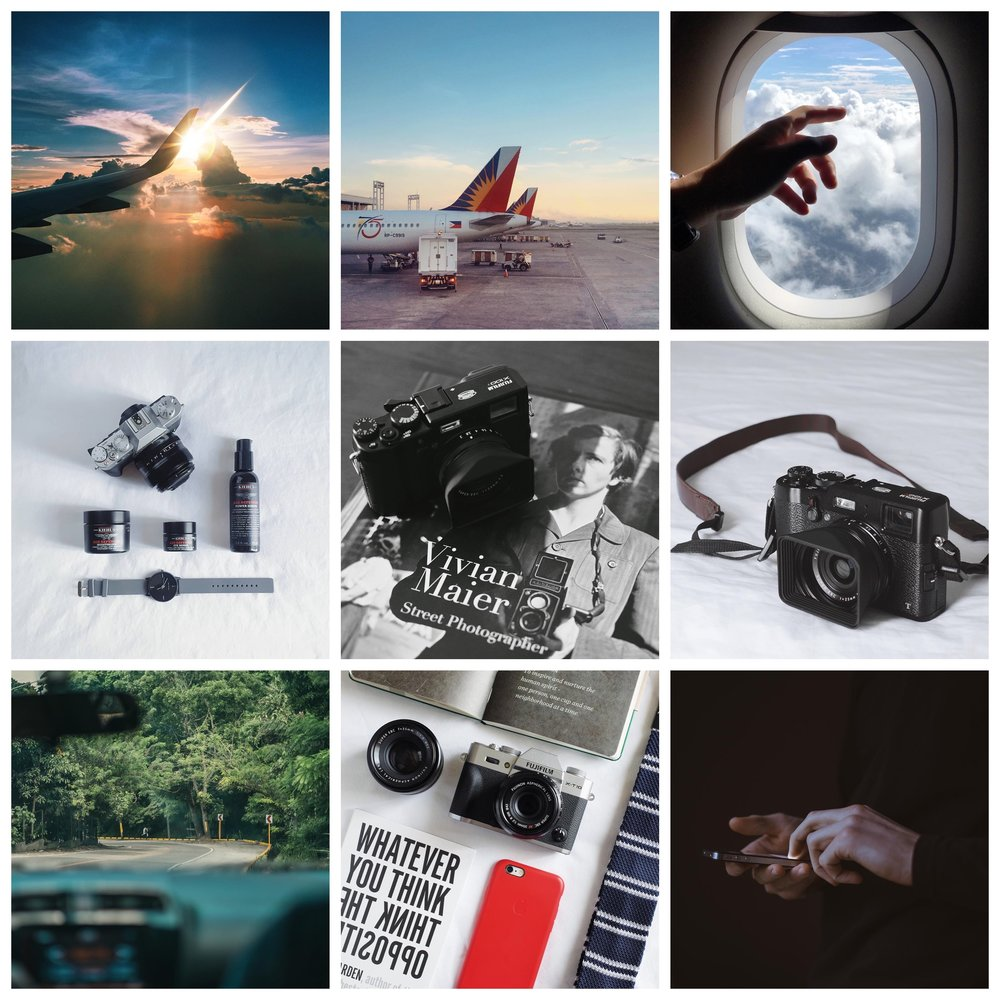 Here is my Best Nine of 2016 from Instagram.