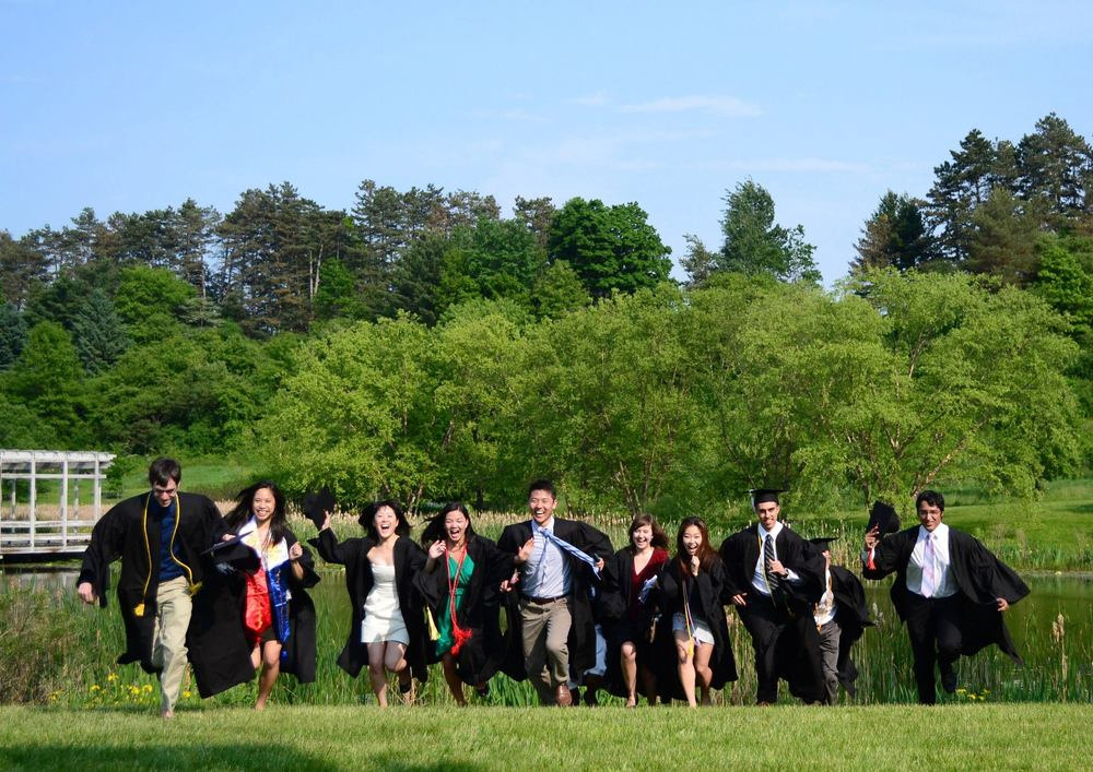 2012. Graduating from Cornell.