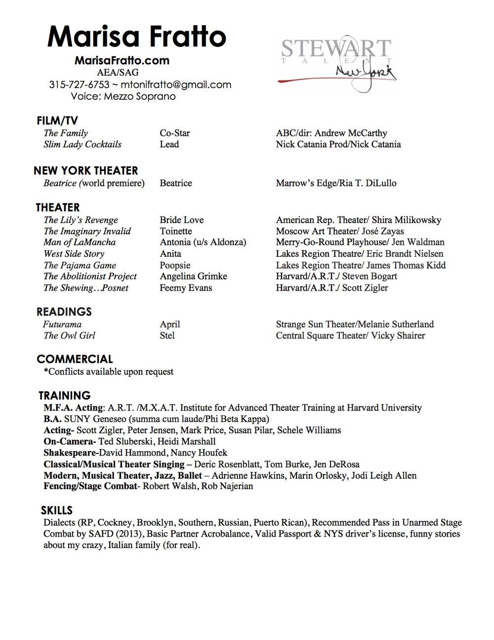 Marisa Fratto Acting Resume 2017.jpg