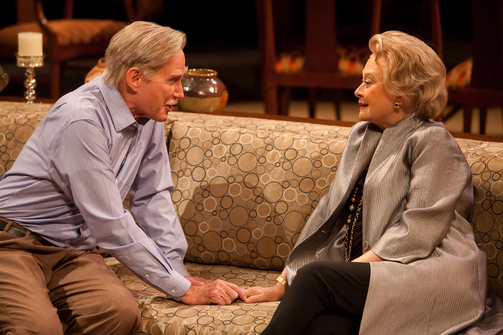 Laura Klein and Mike Hartman in OTHER DESERT CITIES at the Denver Center Theatre Company. Production Photographer Jennifer Koskinen | Merritt Design Photo