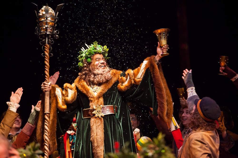 A CHRISTMAS CAROL at the Denver Center Theatre Company. Production Photographer Jennifer Koskinen | Merritt Design Photo