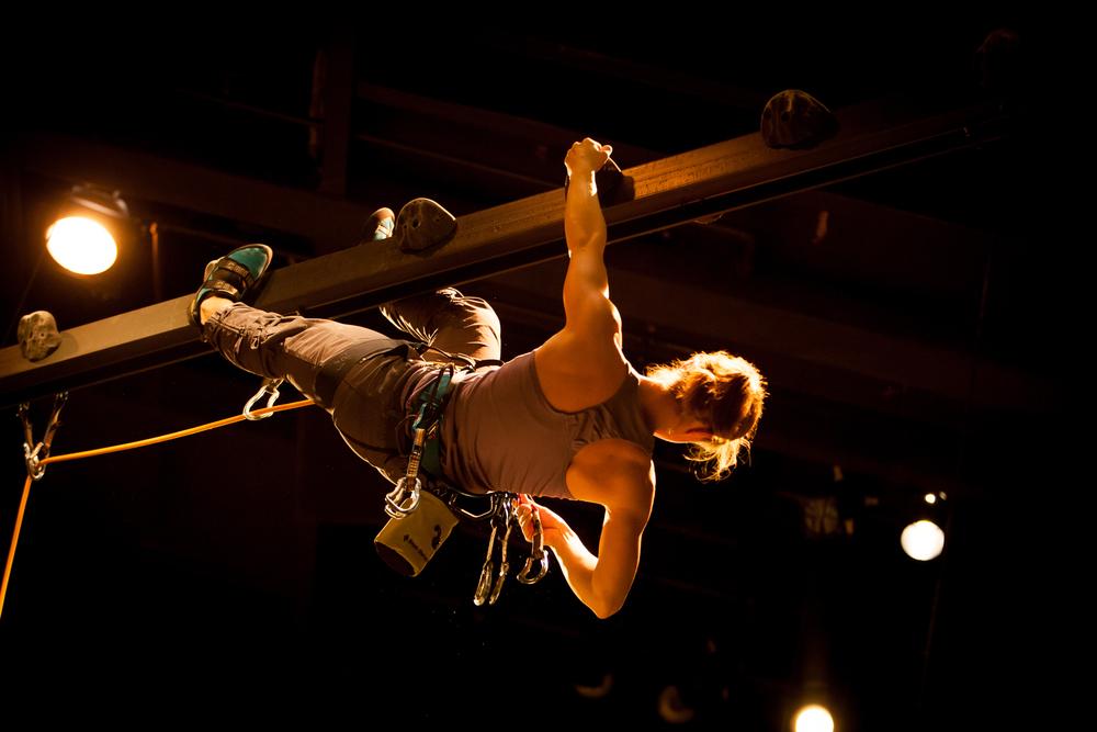GRACE, OR THE ART OF CLIMBING at the Denver Center Theatre Company. Production Photographer Jennifer Koskinen | Merritt Design Photo