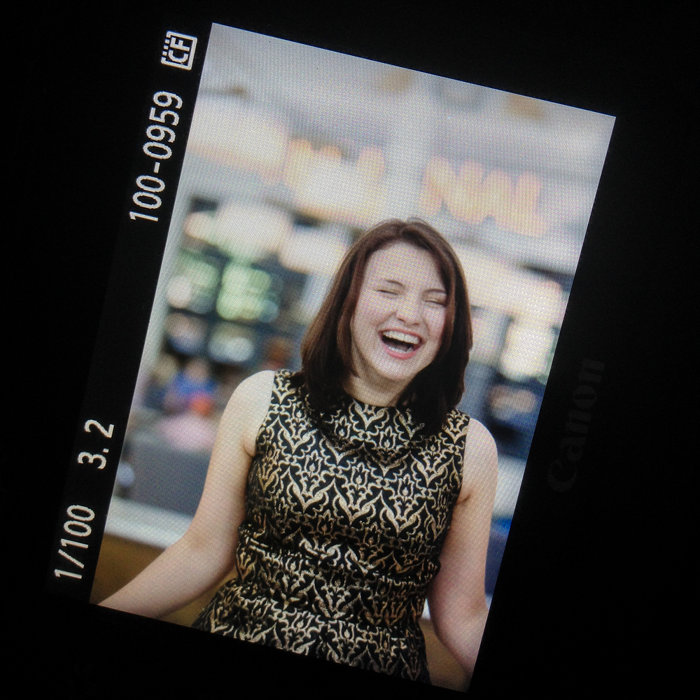 Back of Camera with Denver high school senior photographer Jennifer Koskinen | Merritt Portrait Studio
