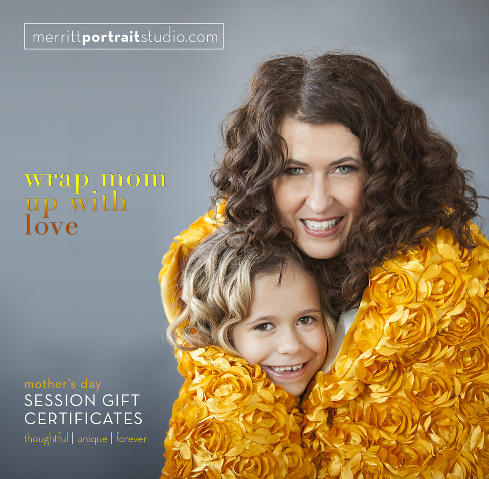 mothers day gift idea | merritt portrait studio | denver