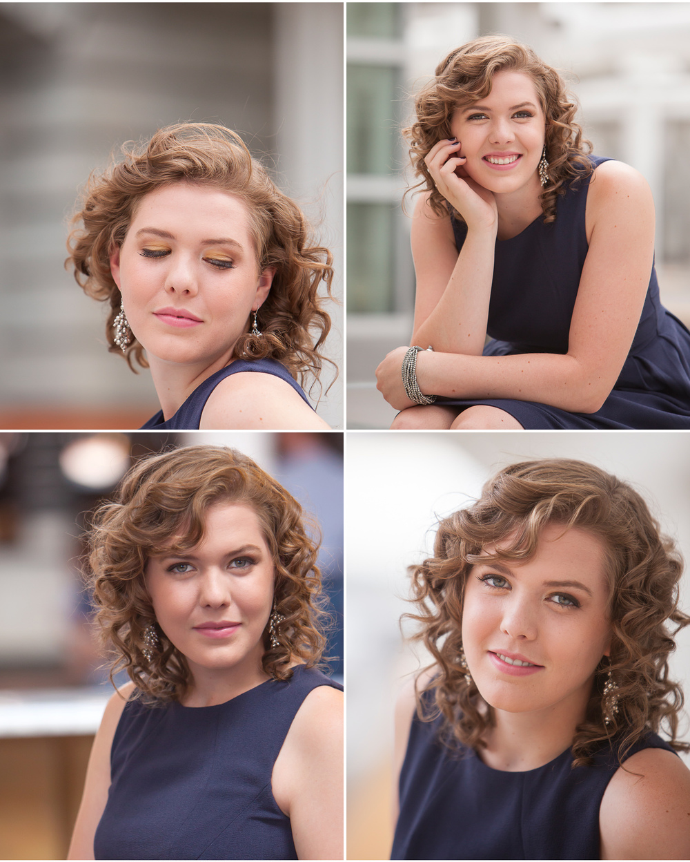 Couture Style High School Senior Portraits at Union Station Denver, with photographer Jennifer Koskinen | Merritt Portrait Studio
