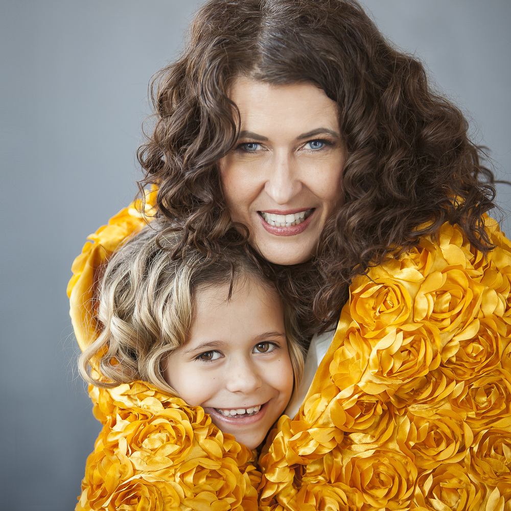 Mother and Daughter Portrait with Denver Photographer Jennifer Koskinen | Merritt Portrait Studio