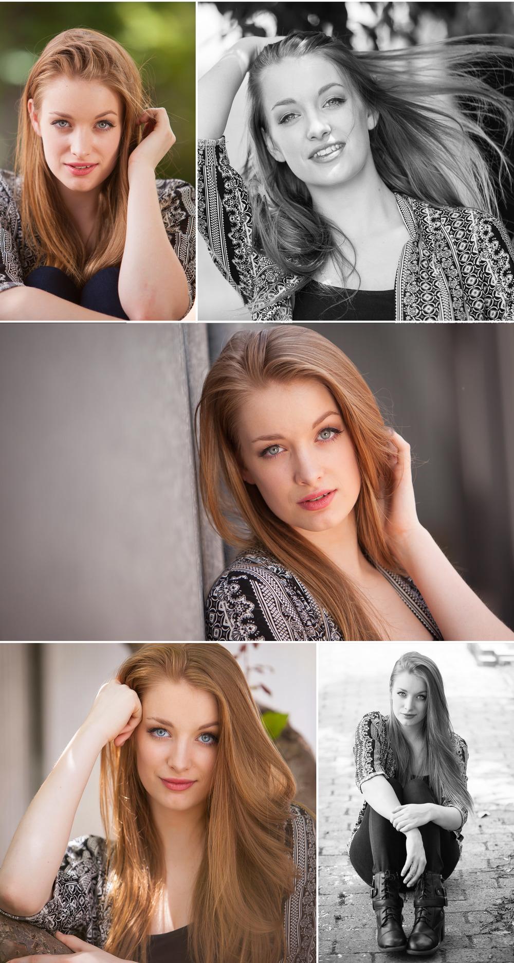 Fashion inspired High School Senior Photos, Blanc in Denver, with portrait photographer Jennifer Koskinen | Merritt Portrait Studio