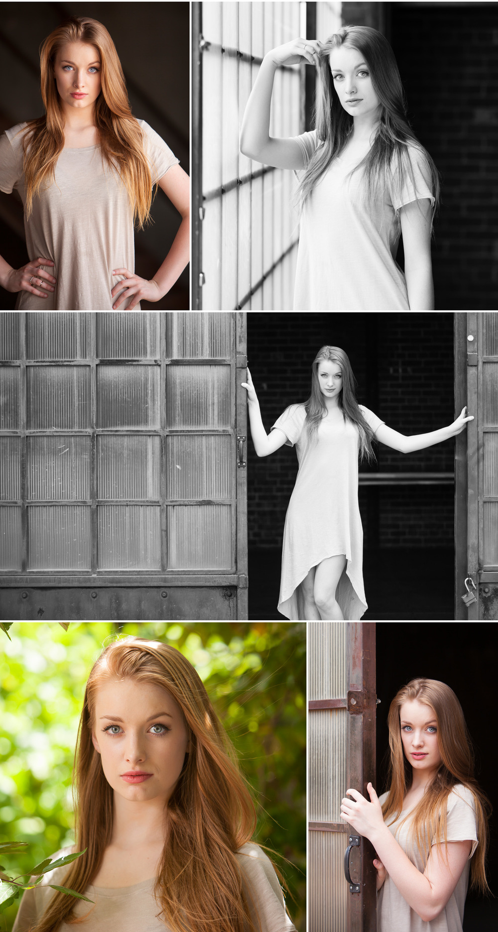 Fashion inspired High School Senior Photos, at Blanc warehouse in Denver, with portrait photographer Jennifer Koskinen | Merritt Portrait Studio