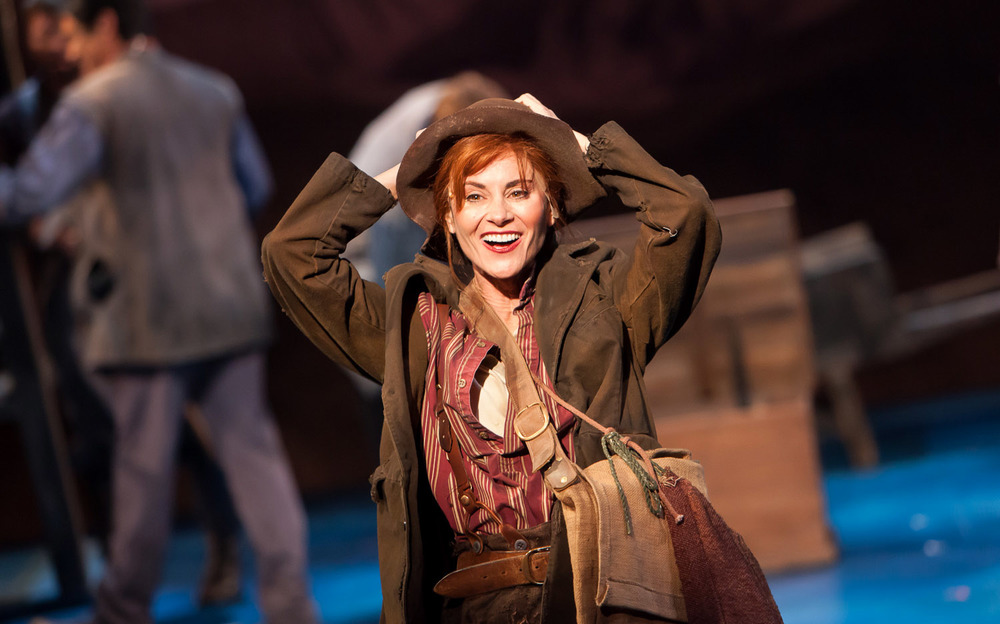 Tony Award Nominee Beth Malone in The Unsinkable Molly Brown at the Denver Center Theatre Company. Photo by Jennifer Koskinen | Merritt Design Photo