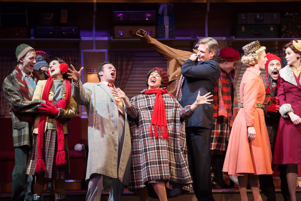 Irving Berlin's WHITE CHRISTMAS at Denver Center Theatre Company. Photo by Jennifer Koskinen | Merritt Design Photo