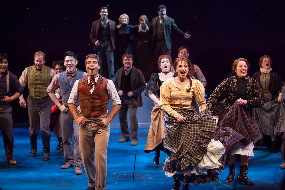 THE UNSINKABLE MOLLY BROWN at Denver Center Theatre Company. Photo by Jennifer Koskinen | Merritt Design Photo