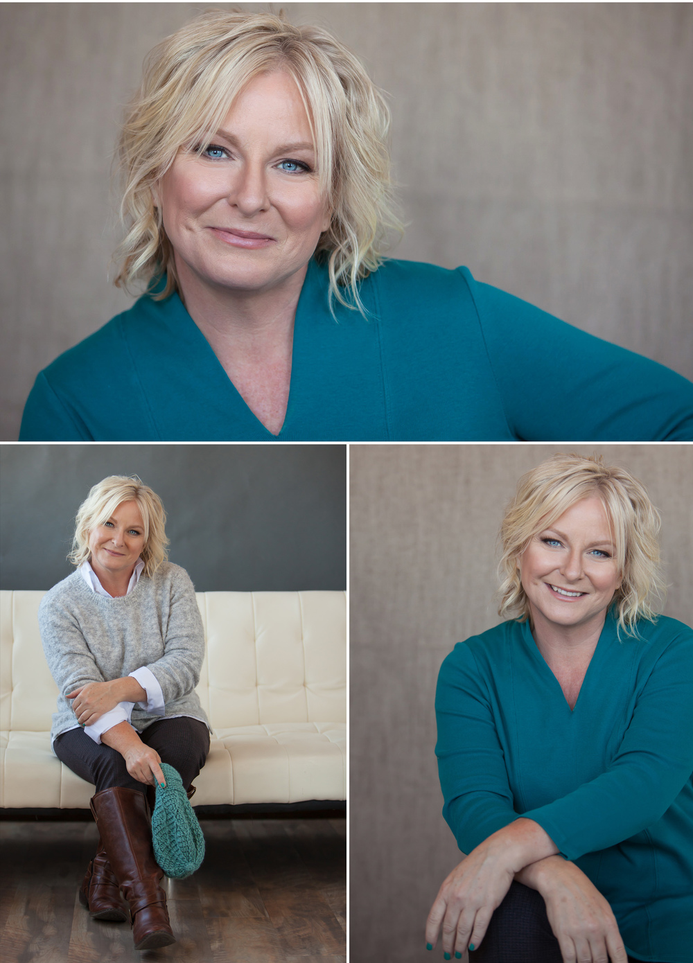 Crystal Blue Eyes featured beautifully in an Ultimate Personal Branding Portrait Session, with Denver Photographer Jennifer Koskinen of Merritt Portrait Studio